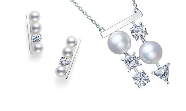 Pearl & Diamond<br>balance diamonds