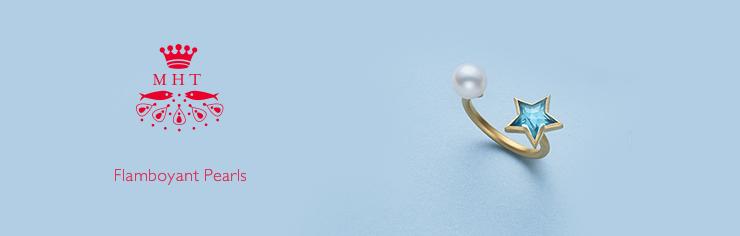 MHT Flamboyant Pearls RING